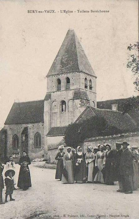 Le document du mois – Sury-en-Vaux, toilette berrichonne   Rencontre avec mes ancêtres   GenealoNet   Scoop.it