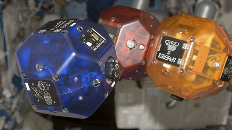Google smartphones become brains of hovering robots at ISS | cross pond high tech | Scoop.it