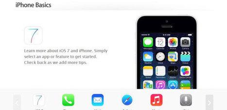 iOS 7 ya tiene sección de consejos básicos en la web de Apple - MovilZona.es   El mundo ahora es Mobile   Scoop.it