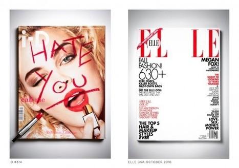 Aurelien Junner, artiste, malmène les couvertures des magasines | A Voice of Our Own | Scoop.it