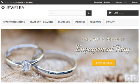 Prestashop and the Art of creating Jewelry Website   E-commerce for Diamond & jewelry industry   Scoop.it
