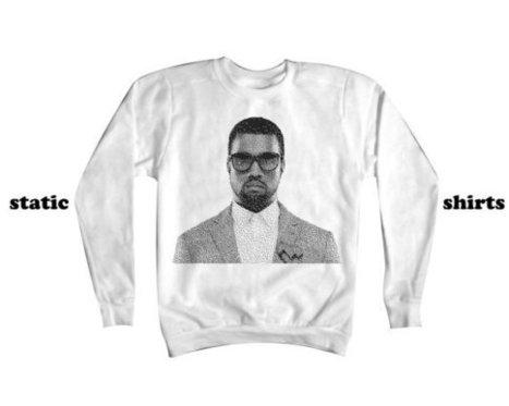 Kanye West Sweatshirt | Digital 8bit Kanye Sweater | Yeezus Music Clothing | New T-Shirt | Scoop.it