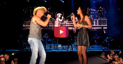 Watch Kenny Chesney and Kacey Musgraves get their flirt on in this fiery duet | Country Music Today | Scoop.it