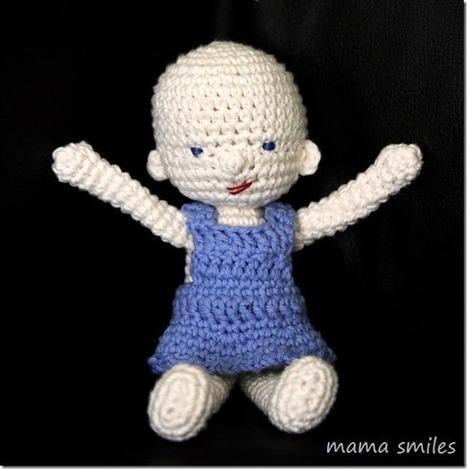 Amigurumi and Waldorf Inspired Baby Doll Crochet Pattern - Mama Smiles - Joyful Parenting | Simple Christmas | Scoop.it