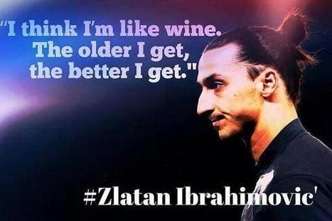Twitter / GeniusFootball: Zlatan Ibrahimovic. ... | zlatan | Scoop.it