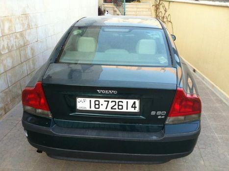 Volvo s60 2001 for sale in Jordan 7.800 JDs | Cars For Sale In Jordan | Scoop.it