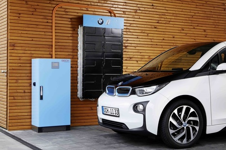 BMW i3 batteries will become energy storage systems for the home | All about batteries | Scoop.it