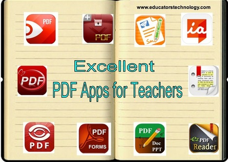 10 Excellent iPad Apps to Annotate, Highlight, and Add Comments to PDFs ~ Educational Technology and Mobile Learning | ICT Nieuws | Scoop.it