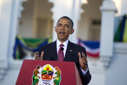 Obama a bien du mal à prononcer le nom du président français