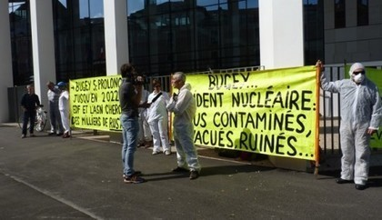 Fuite à la centrale du Bugey : EDF et Sortir du nucléaire attendront le 15 novembre   L'écologie politique dans l'Ain   Scoop.it