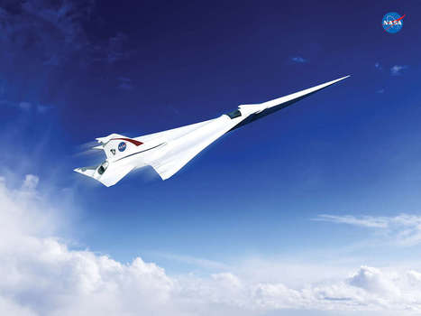NASA Wants A Supersonic X-Plane Without The Boom | Post-Sapiens, les êtres technologiques | Scoop.it