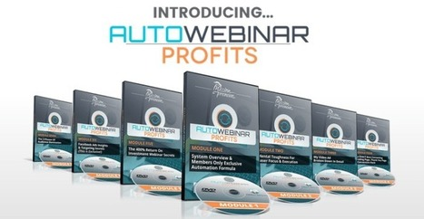 Mario Brown's Auto Webinar Profits System Package Review – Best Training Course and Fully Automated System To Generate Leads, Convert Prospects Into Customers, Completely Systematized Follow Up Whi... | Online Business | Scoop.it