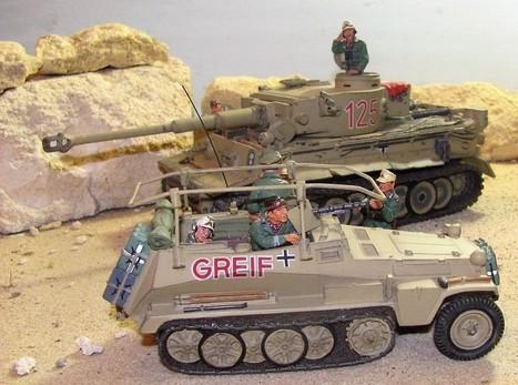 Desert Tiger(s) | Military Miniatures H.Q. | Scoop.it