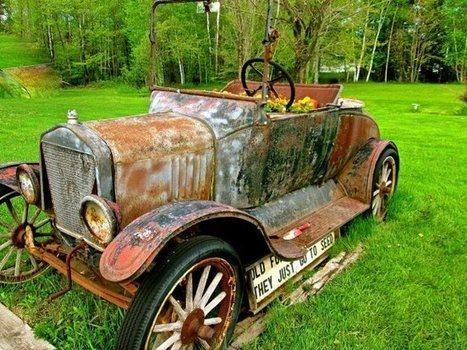 Recycled Ford Model T Garden | Old Cars | Scoop.it