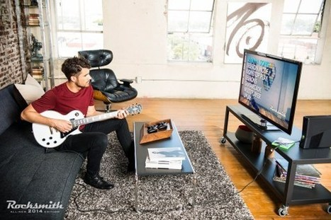 With real instruments and lessons, Rocksmith 2014 seeks to banish faux guitar ... - VentureBeat | Guitar | Scoop.it
