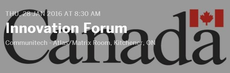 A Communitech Innovation Forum; January 28th in Kitchener, ON | Space Conference News | Scoop.it