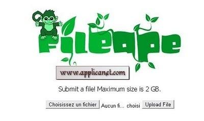Fileape: Partager des fichiers jusqu'à 2 GO   Applications du Net   A-arts-s s s (animaux, nature, écologie, peinture huile)   Scoop.it