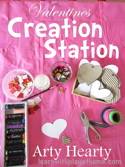 Valentines Creation Station. Arty Hearty | SMART TINKER SCOOPS FOR PARENTS | Scoop.it