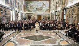 Pope Francis tells FAO Conference delegates eradicating hunger is an obligation that must not be neglected | Food Security | Scoop.it