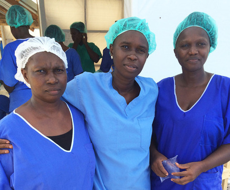 In Sierra Leone, Nurses Who Survive Ebola Return to Help Others | shopping and savings | Scoop.it