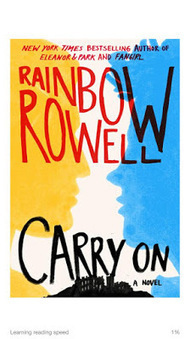 School Librarian in Action: Book Review: Carry On by Rainbow Rowell | The Reading Librarian | Scoop.it