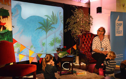 Had a wonderful time at ChipLitFest in Chipping Norton last weekend. | Dinosaur Roar! | Scoop.it