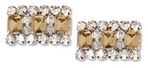 amber rhinestone shoe clips | Shoe Clips - Shoe Accessories - Shoe Jewelry | Scoop.it