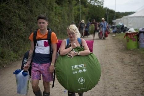 Embouteillages monstres pour accéder au festival de Glastonbury | Kultur | Scoop.it