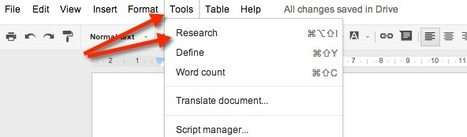 Synergyse Blog: Using Google Docs Research Tool in the Classroom   21st Century Sustainable Development   Scoop.it