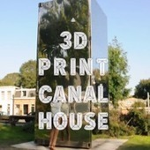 The First 3D Printed House Will Be Built In Amsterdam - WebProNews | Infographie | Scoop.it