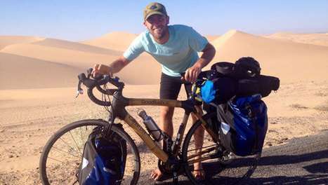 Cycling across the country barefoot in search of a simpler life | This Gives Me Hope | Scoop.it