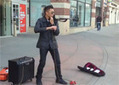 Epic Violin Street Musician - Video | Conceptual Art Network | Scoop.it