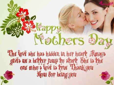 Mothers Day Card - Happy Mother's Day 2014 | Techitweb | Scoop.it