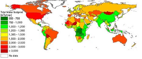 Qui consomme vraiment l'eau de la planète ? | Un peu de tout... | Scoop.it