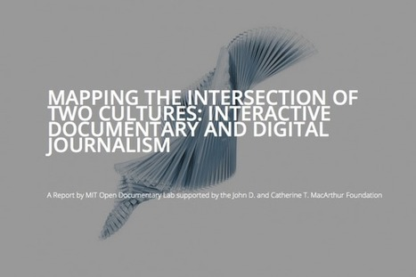 How interactive documentaries represent a new form of innovation in digital journalism | New Journalism | Scoop.it