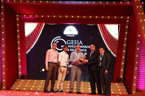 Azilen Technologies Bags GESIA 8th Annual Award 2015 for 'The Best Product Development Company' | Software Development, Mobile Technololgy, Enterprise Solutions | Scoop.it
