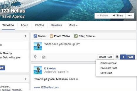 Du nouveau pour la publication de contenus sur les pages Facebook | Outils numériques pour associations | Scoop.it