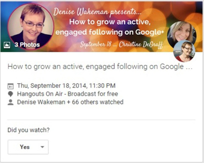 6 Google+ Features to Promote Your Business | Google+ ( Google Plus ) for Small Business | Scoop.it