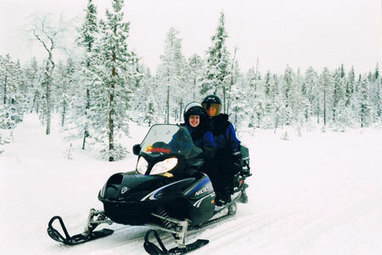 Lapland: Finland's snowy adrenaline-pumping action, sans Santa - TNT Magazine | snowmobiling (K) | Scoop.it