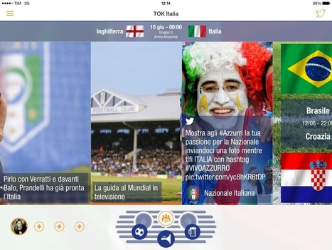 TOK.tv | How to follow the #WorldCup with your friends on the second screen | Richard Kastelein on Second Screen, Social TV, Connected TV, Transmedia and Future of TV | Scoop.it
