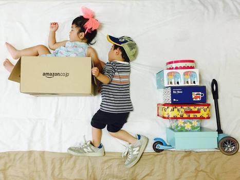 Ayumi Omori Captures Her Sleeping Twins In Imaginative Scenes | PhotoHab | Scoop.it