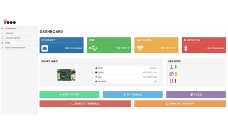 An updated, enhanced Web Control Panel for UDOO NEO - UDOO | Raspberry Pi | Scoop.it
