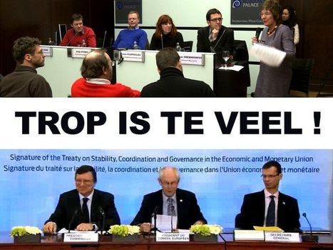 Trop is te veel ! | Occupy Belgium | Scoop.it