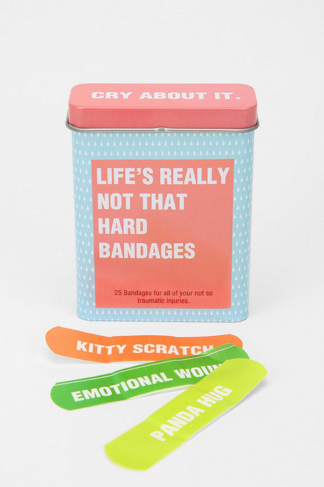 Life's Really Not That Hard Bandages | What Surrounds You | Scoop.it