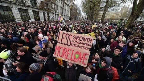 Tens of Thousands march in #London for action on #climate change ahead of #Paris talks #video | Messenger for mother Earth | Scoop.it
