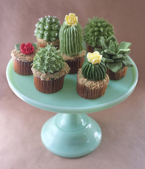 DIY House Plant Cupcakes | Colossal | Culture and Fun - Art | Scoop.it