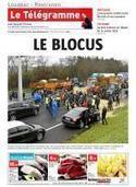 Crise agricole.  La RN164 paralysée | Ma Bretagne | Scoop.it