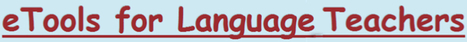 eTools for Language Teachers | Sylvia Duckworth | Mrs Tomoniko's Education World | Scoop.it