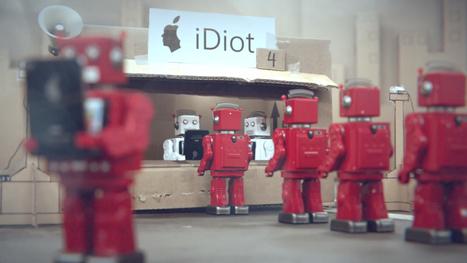 iDiots : un film d'animation avec des robots sur l'obsolescence programmée et la dépendance au mobile | Educommunication | Scoop.it