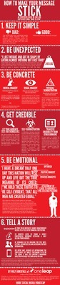 How To Make Your Message Stick Infographic | Public Relations & Social Media Insight | Scoop.it